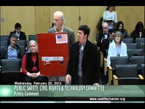 Seattle - Public Safety Committee - Stand UP America speech