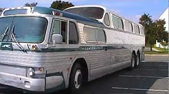 Fully restored 1954 Greyhound Scenicruiser Bus PD4501-083