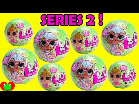 LOL Surprise Dolls Lil Sisters Series 2 L.O.L. Baby Ball Blind Bags