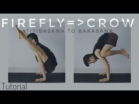 how to firefly pose titibasana titibasana to bakasana