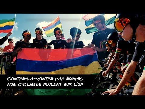 JIOI 2019: nos cyclistes roulent sur l'or