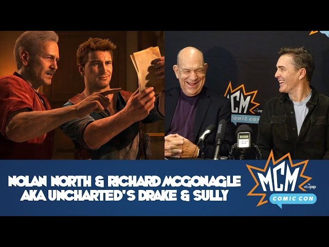 Nolan North & Richard McGonagle, AKA Uncharted's Drake & Sully (Interview One)!