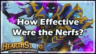 [Hearthstone] How Effective Were the Nerfs?