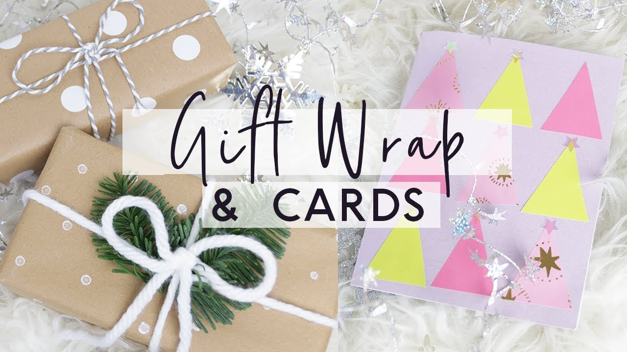 Diy Gift Wrap Hacks And Christmas Cards Budget Friendly
