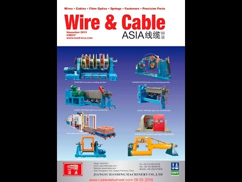 Wire & Cable Asia Magazines WCA November 2015