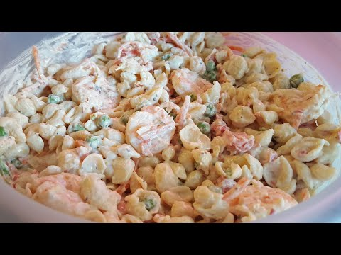 How To Make Pasta Salad With Shrimp