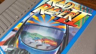 Classic Game Room - RAD RACER II review for NES