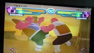 Dragon Ball Z Budokai(Gamecube)-Dodoria Mirror Match