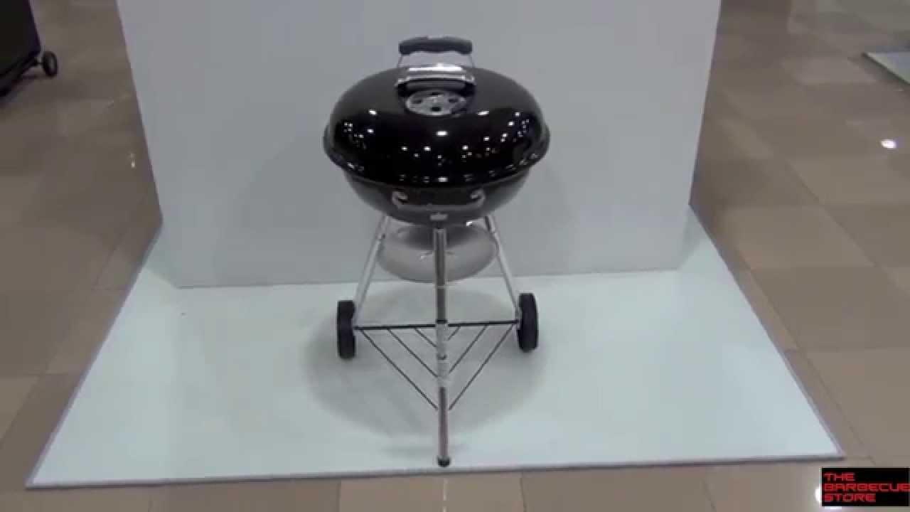 Weber Holzkohlegrill Compact Kettle ø 47 Cm : Barbacoa de carbón weber compact kettle cm youtube