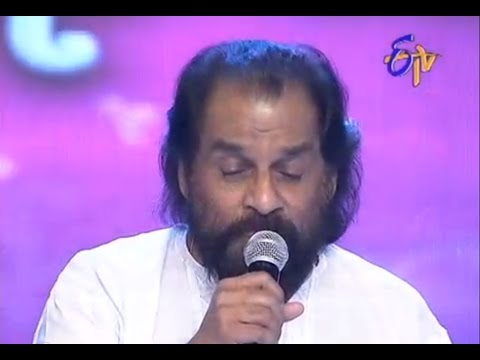 Swarabhishekam - K.Js Performance - Gaali Vaanalo Vaana Neetilo Song - 8th June 2014