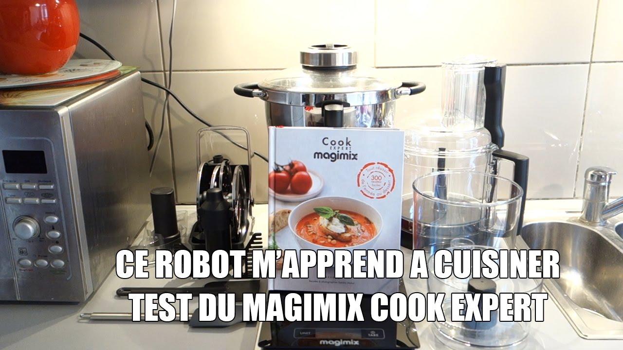un robot m 39 apprend a cuisiner test du magimix cook expert youtube. Black Bedroom Furniture Sets. Home Design Ideas
