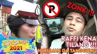 DAHSYAT - Dahsyatnya Raffi Ahmad Ditilang Polwan Cantik [05 Desember 2017]