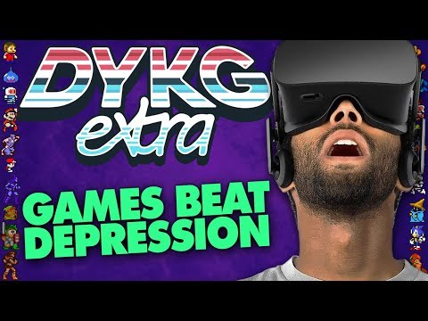 Games Beat Depression & Anxiety [Games in Medicine]  - Did You Know Gaming? extra Feat. Boogie2988
