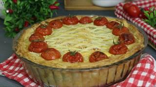 Рецепт пирога с курицей и грибами.