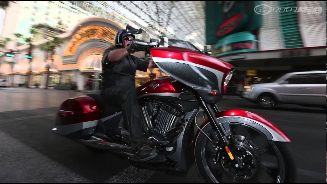 2015 Victory Magnum First Ride Motousa Youtube