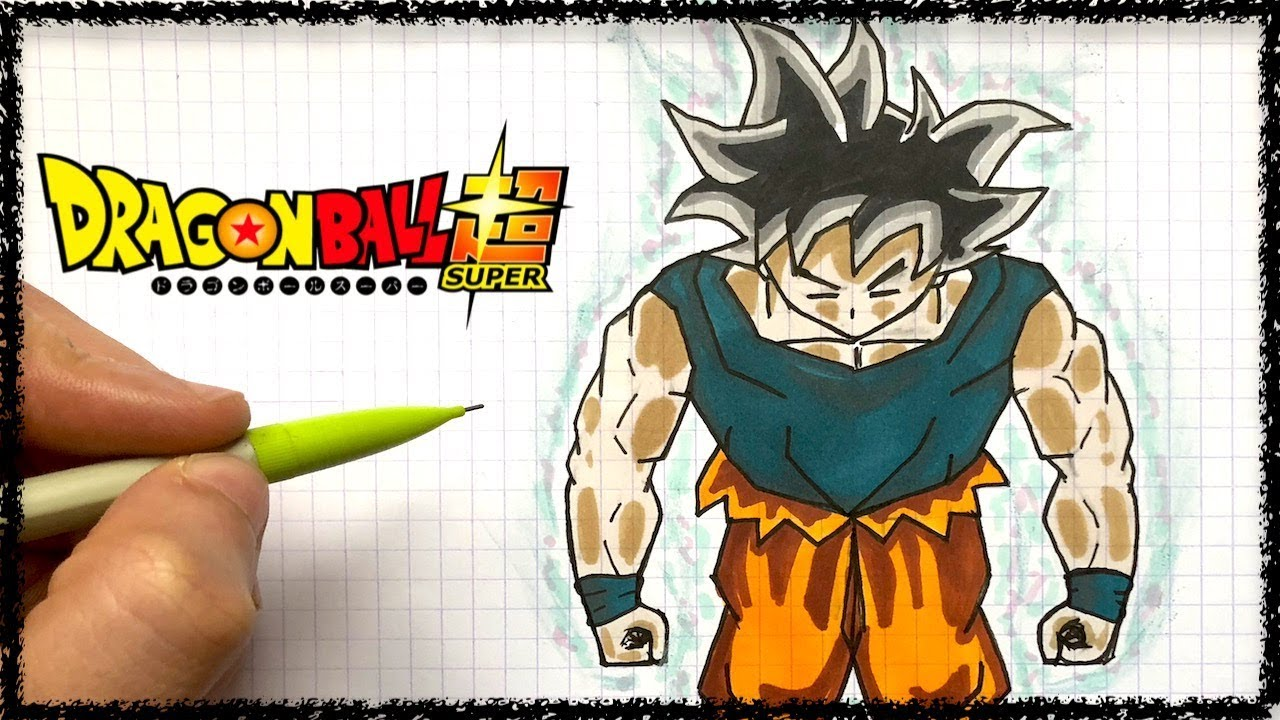 Draw Ultra Instinct Goku Pixel Art