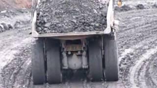 Cat Trucks on a slippery slope