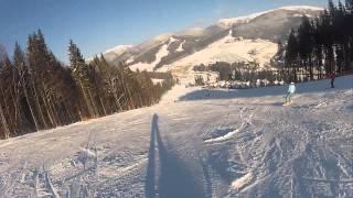 Буковель / Bukovel (2013) HD(Наш отдых в буковеле в январе 2013 года. Снято на Go Pro Hero 2 Outdoor edition. Автор видео: http://vk.com/senzala., 2013-01-15T22:32:35.000Z)