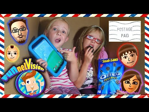 I Mailed Myself to FGTeeV - FUNnel Vision Family w/ Cousin! It Worked! Minecraft Roblox Games (Skit)