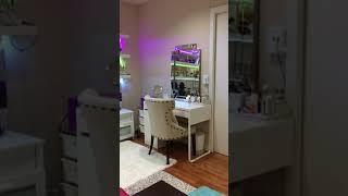 Transfer garage to make-up station and meditation room 1