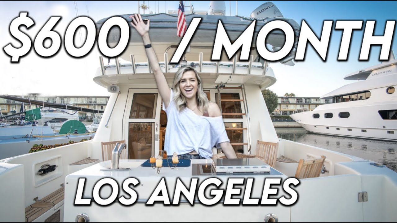Download What It's Like To Live On a $600 Per Month BOAT in Los Angeles