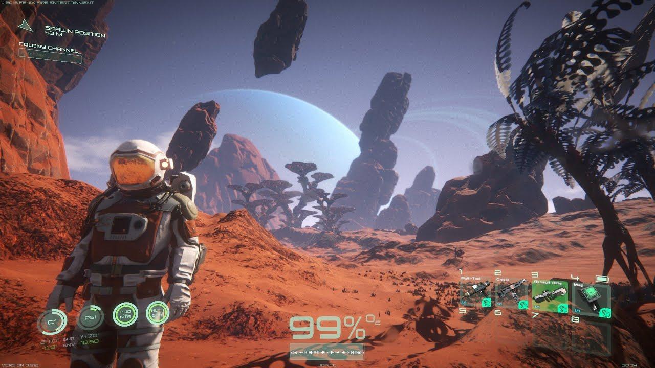 osiris new dawn pc 60fps gameplay 1080p youtube