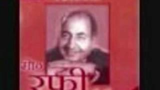 Film  Aakhri Dao  Yr 1957 Song Humsafar Saath Apna Chod Chale  by Rafi Sahab & Asha.flv