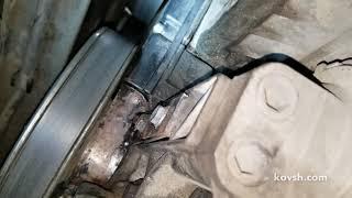 Малоизвестная причина воя ремня газораспределения, Fiat Doblo 1.9d Common Rail, 223A7.000