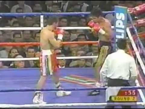 Julio Cesar Chavez vs Miguel Angel Gonzalez pt 1