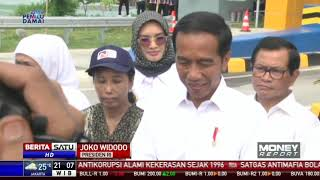 Presiden Jokowi Resmikan Tol Pasuruan-Probolinggo