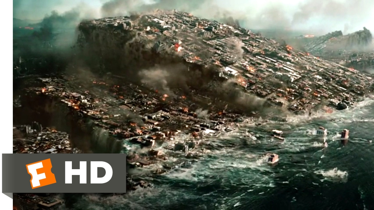 2012 2009 The Sinking Of Los Angeles Scene 3 10 Movieclips Youtube