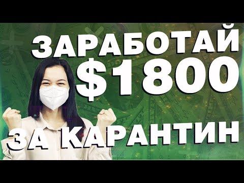 Готовая схема: $1800 - Как заработать деньги в интернете без вложений