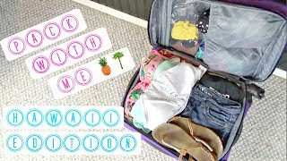 PACK WITH ME FOR HAWAII VACATION | Emma Patterson