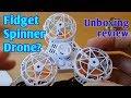 flying fidget spinner drone