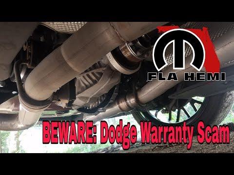 BEWARE!!!! Dodge Warranty Scam!
