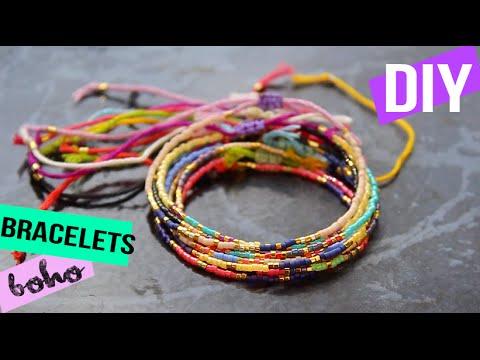 Bekannt DIY┋BRACELETS EN PERLES MIYUKI BOHO - stacked beaded bracelets  QN53