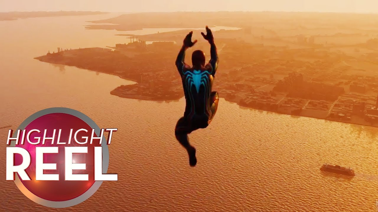 Highlight Reel #426 - Spider-Man Pulls Off Perfect Dive