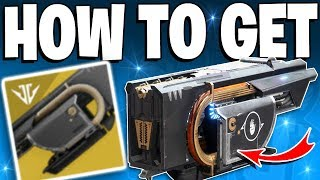Destiny 2 How To Get The JOTUNN EXOTIC Fusion Rifle Black Armory Exotic