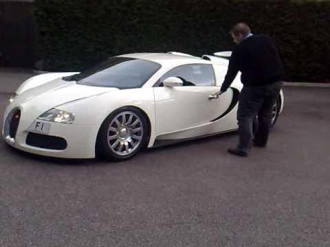 white bugatti veyron number plate f1 kahn design bradford uk youtube. Black Bedroom Furniture Sets. Home Design Ideas