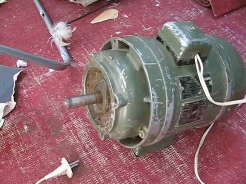 Запускаем двигатель АОЛБ22-4