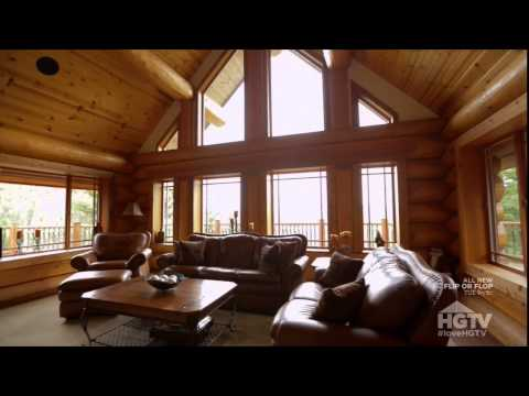 """RED ROOF LODGE IT'S """"LOGTACULAR"""""""