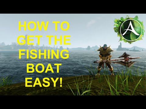 Archeage Unchained: How To Get The Fishing Boat EASY!!!