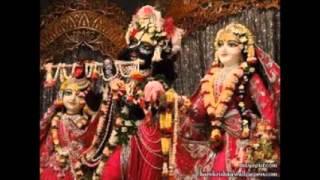 Visnujana Swami Radhe Jaya Jaya Madhava Dayite w/ Translation