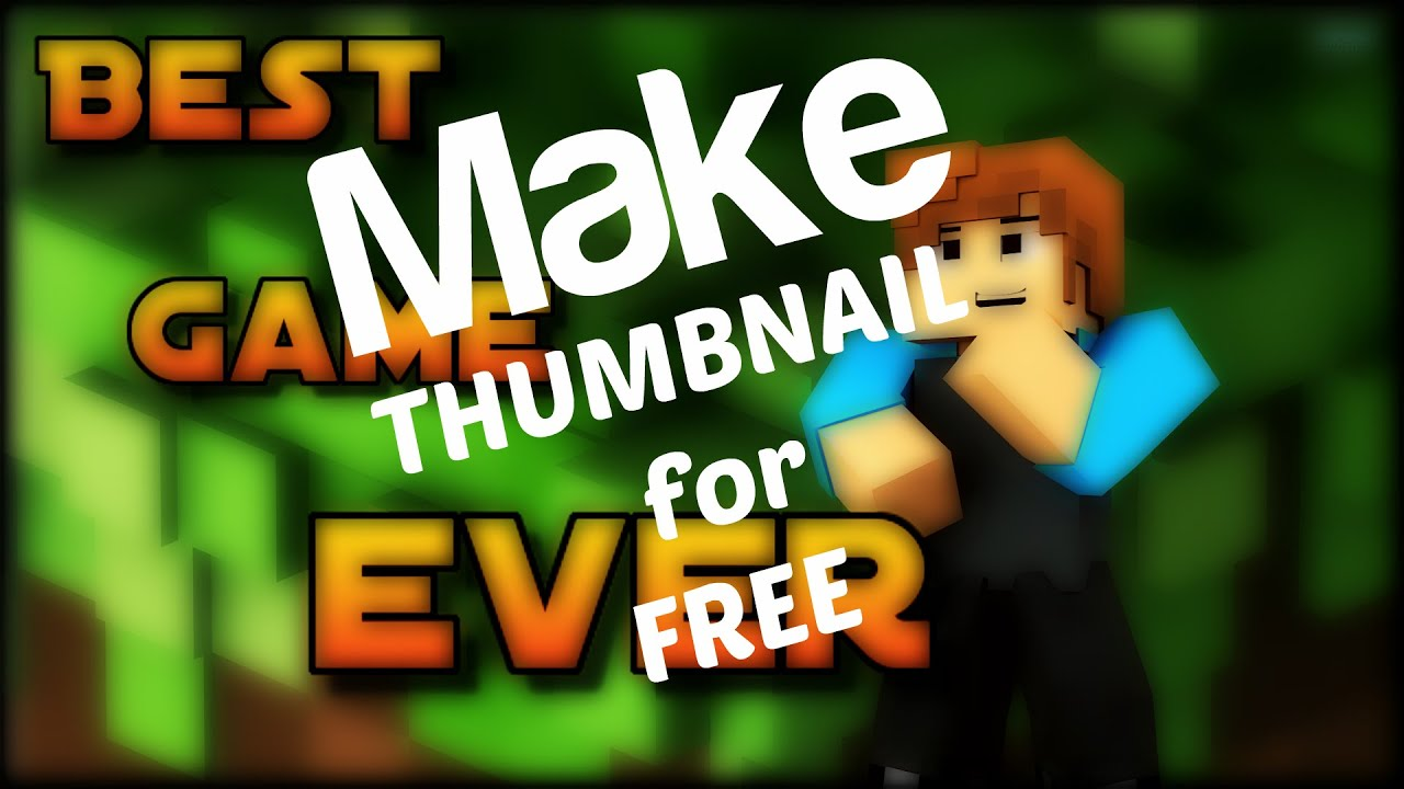 Make Great Looking Thumbnails for Free