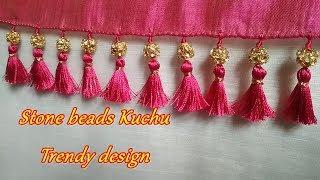 Kuchu with stone beads