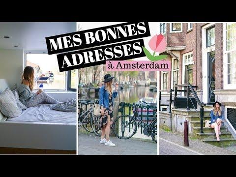 VLOG 2 jours à Amsterdam : bonnes adresses | tribulationsdanais