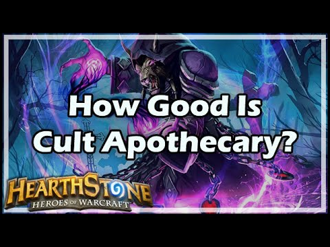 [Hearthstone] How Good Is Cult Apothecary?