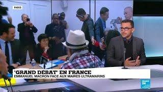Olivier Hoarau, maire de la ville du Port à la Réunion, nous parle Grand Débat national