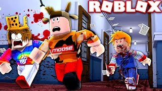 ESCAPE EVIL DOLL *CHUCKY* IN ROBLOX!