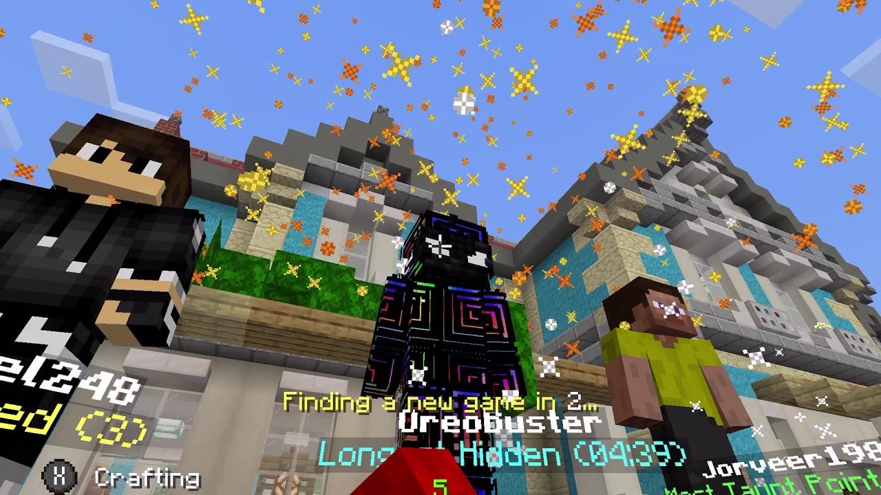 Minecraft PE hide and seek HILARIOUS FAIL! - YouTube
